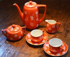 Koffieservies, 5 delig